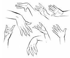 Drawn women hand sketch Reaching to Google  how