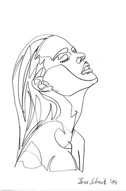 Drawn profile easy Profile Pinterest 25+ on sketch