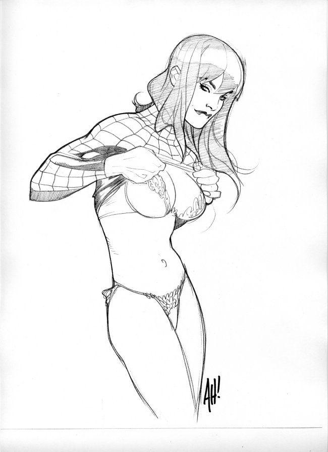 Drawn women marvel #11