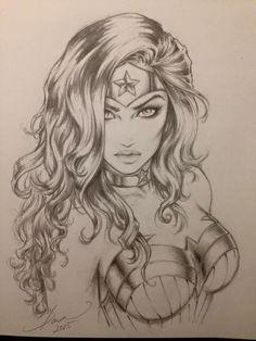 Drawn women marvel #12