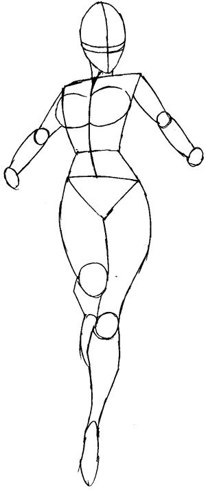 Drawn women marvel #15