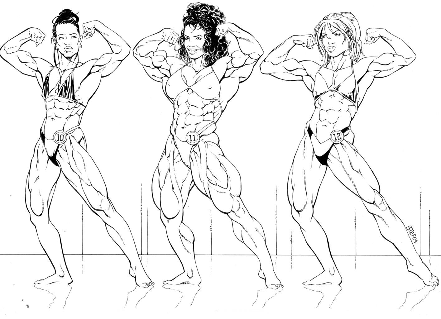 Drawn women muscular Draw Pinterest Search Google Search