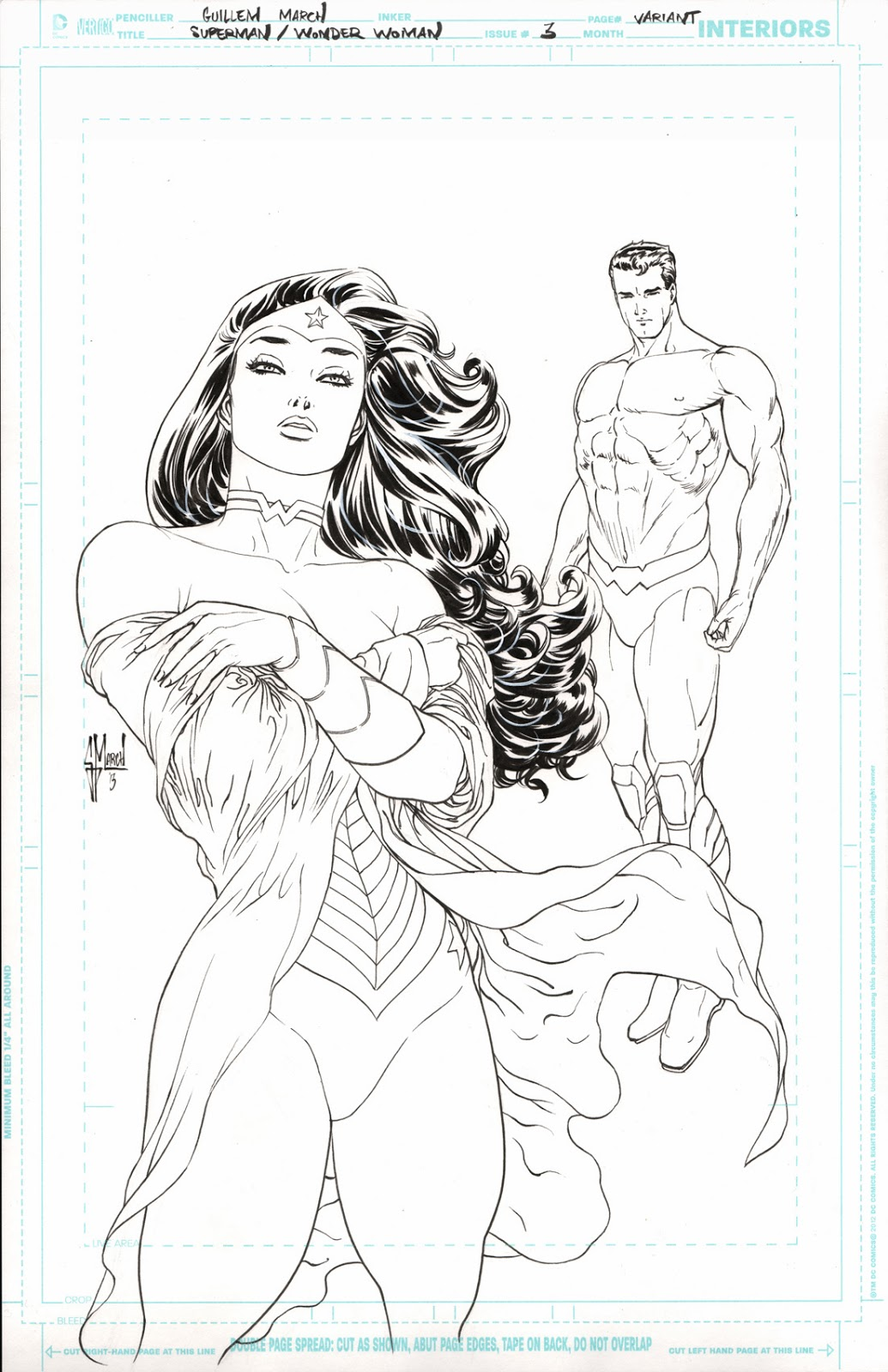 Drawn women muscular Superman Muscles To scan Guillem