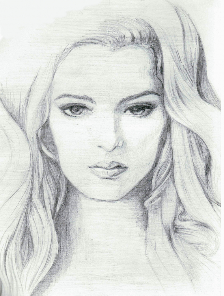 Drawn women pencil sketch Woman Artisan Pencil Pencil Sketch