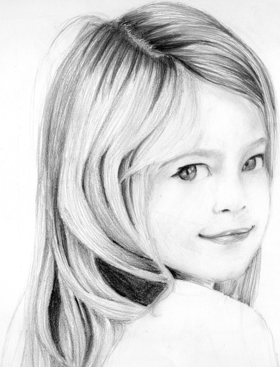 Drawn portrait sketch Sketches  Pencil Face Of