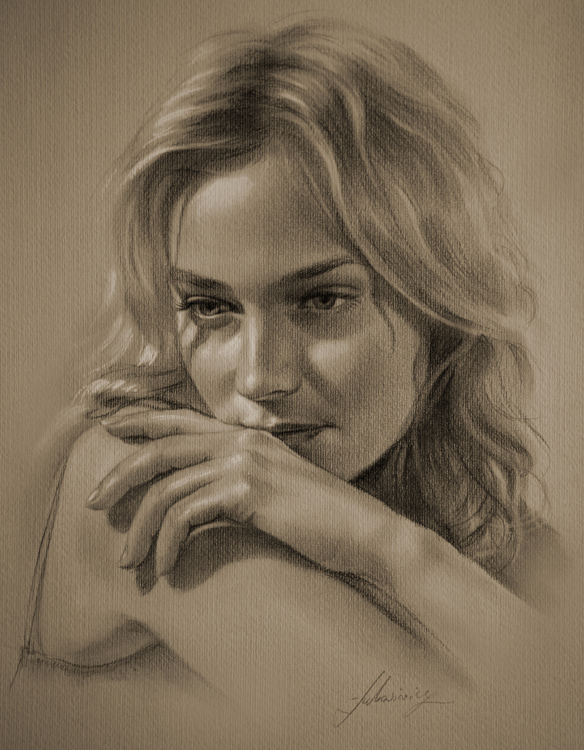 Drawn women photography portrait And Pin on more drawing
