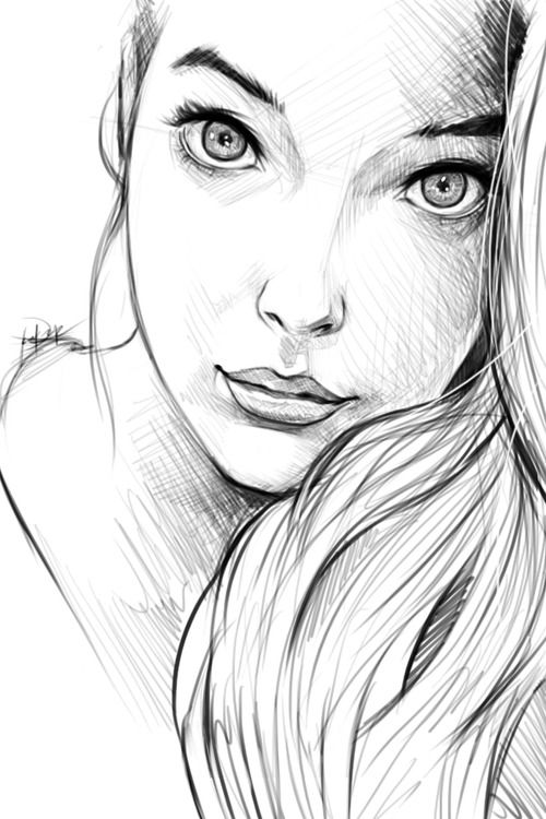Drawn women pinterest On 2D Pinterest more Women