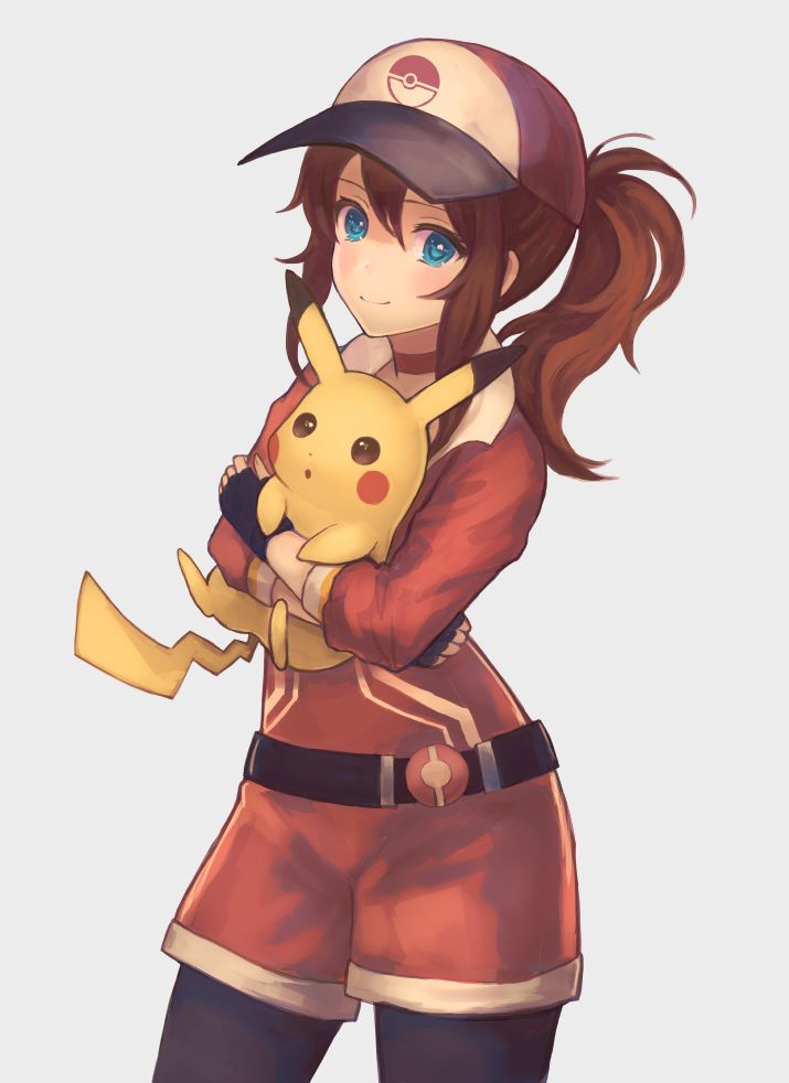 Drawn women pokemon おかかん@お Pinterest Pokémon Trainer Pikachu