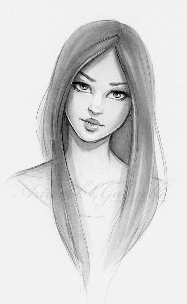 Drawn women Girl and Hair Kërkimi on