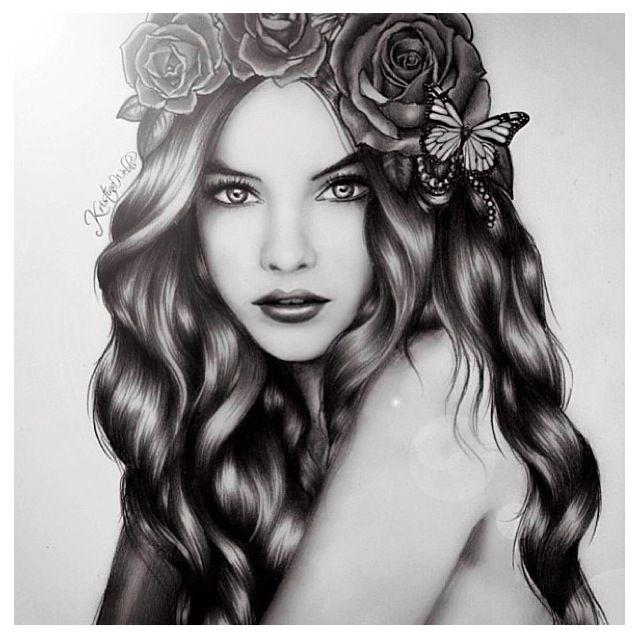 Drawn women pretty woman About Drawing best 275 Rajzok