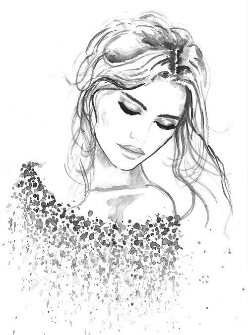 Drawn women pretty woman Pretty this this of like
