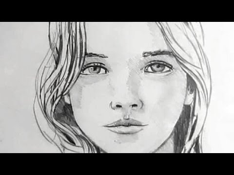 Drawn women real face Face: Draw How Narrated How