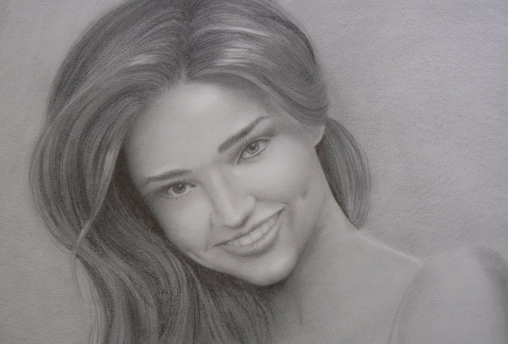 Drawn women real face To Kids Adult Women To