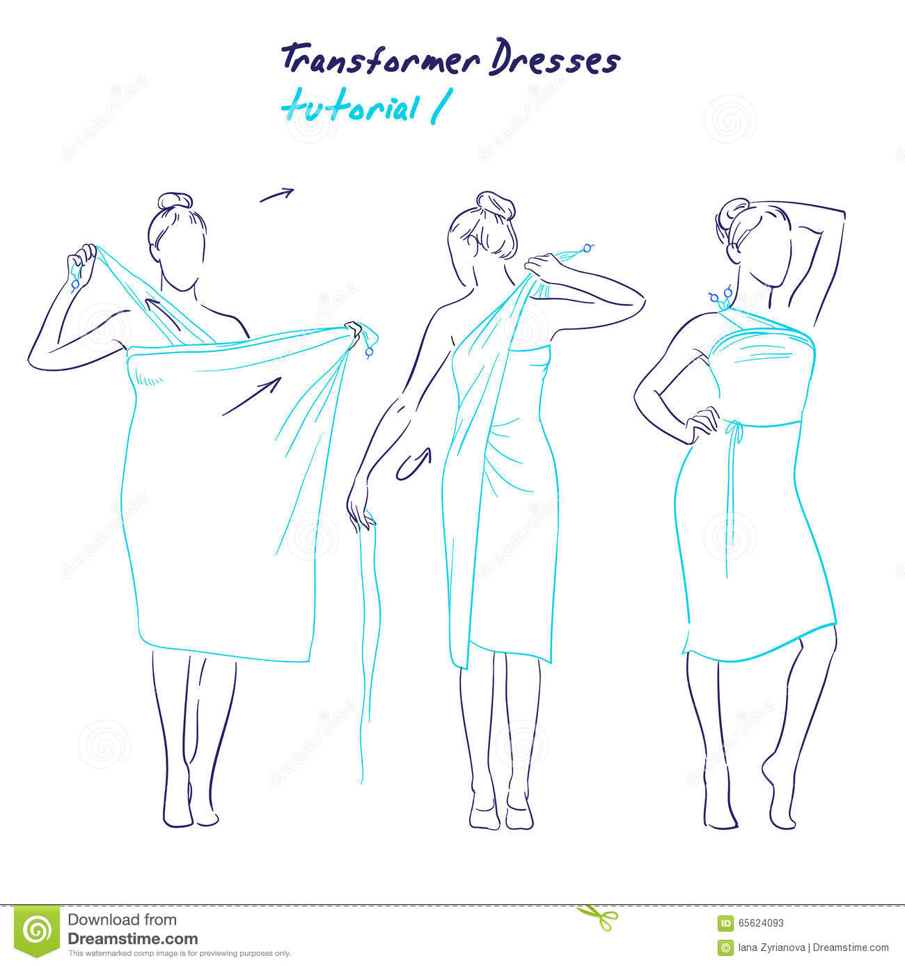 Drawn women simple Drawn drawn illustration animation women