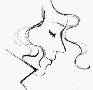 Drawn women simple DrawingSimple Mailbox Non Frizz Best