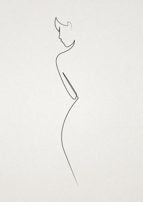 Drawn women simple Woman 31:17 esposa capaz drawing