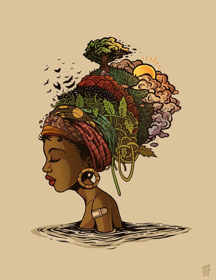 "Drawn women strong woman Best 25+ Black History""Instagram: instagram"
