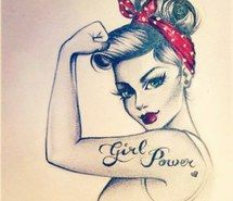 Drawn women strong woman Quotes a  boys I