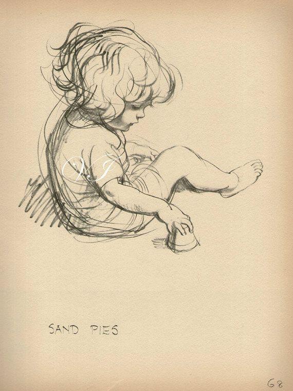 Drawn women vintage Best Baby of Antique ideas