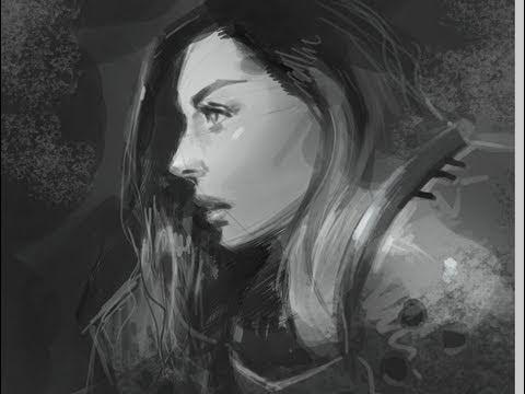 Drawn women woman's How draw  woman face