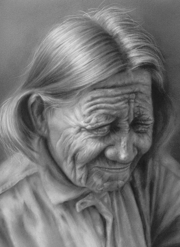 Drawn women woman's Figure/Portrait women charcoal women Art