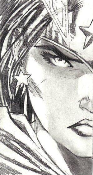 Drawn women woman's Woman Pinterest about Comic Wonder