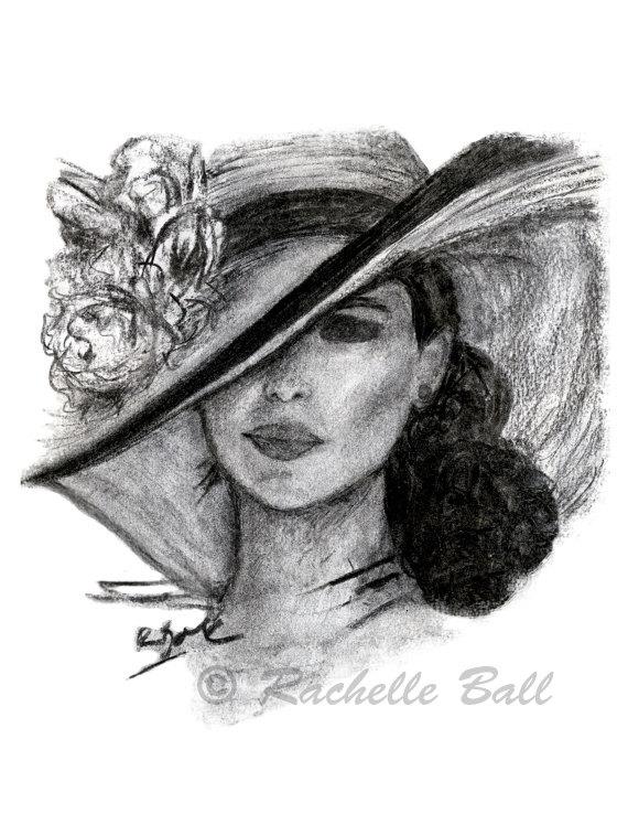 Drawn women woman's Original Off Print in Fashion