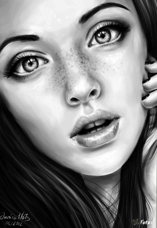 Drawn portrait best face Pinterest drawing face 25+ on