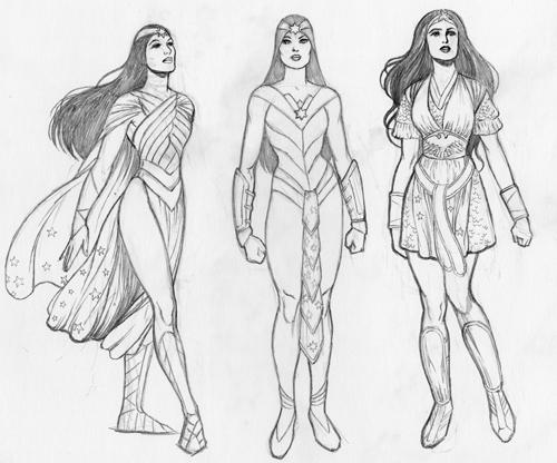 Drawn women wonder woman July And on CIRCUMSTANCES: Wonder