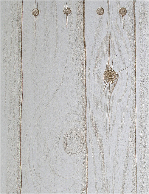 Drawn planks Realistic drawingwood4 to with Pencils