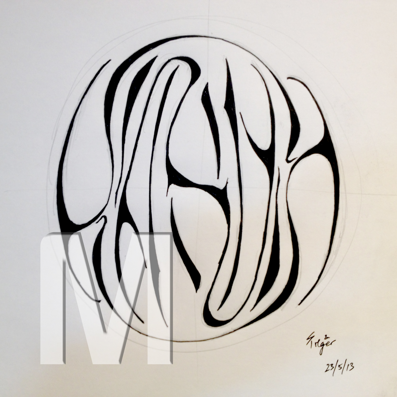 Drawn word Art KarmaProtoWM Word Words of