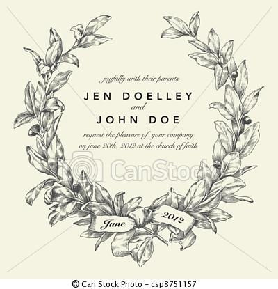 Wreath clipart classy 54 about Vector Background Wreath