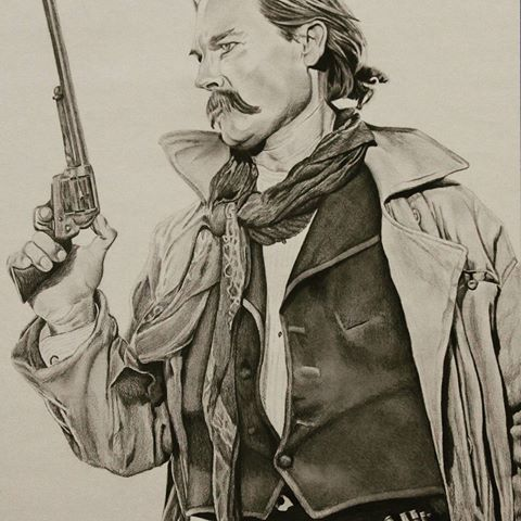 Drawn wyatt earp Tombstone photos and Reppard Powers