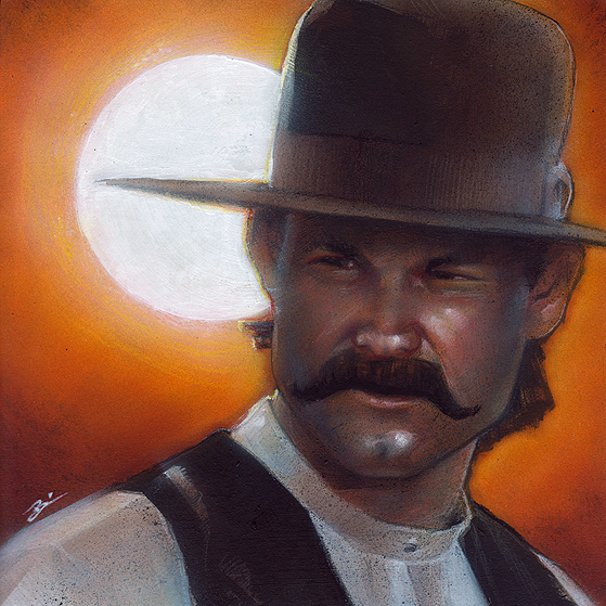Wyatt Earp clipart dead man #13