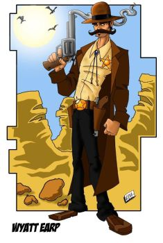 Wyatt Earp clipart animated #14