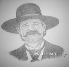 Drawn wyatt earp halloween tombstone Pencil Details ARIZONA TOMBSTONE DRAWING