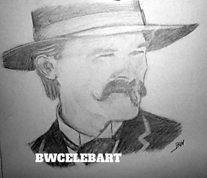 Drawn wyatt earp halloween tombstone Pinterest TOMBSTONE/ russell PENCIL RUSSELL