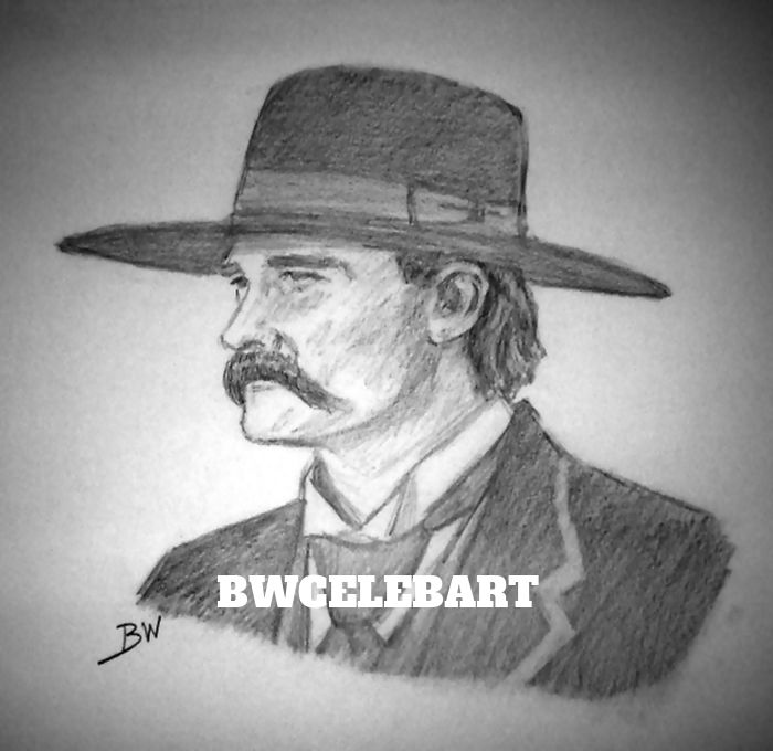 Drawn wyatt earp halloween tombstone Drawing Tombstone realism graphite kurt