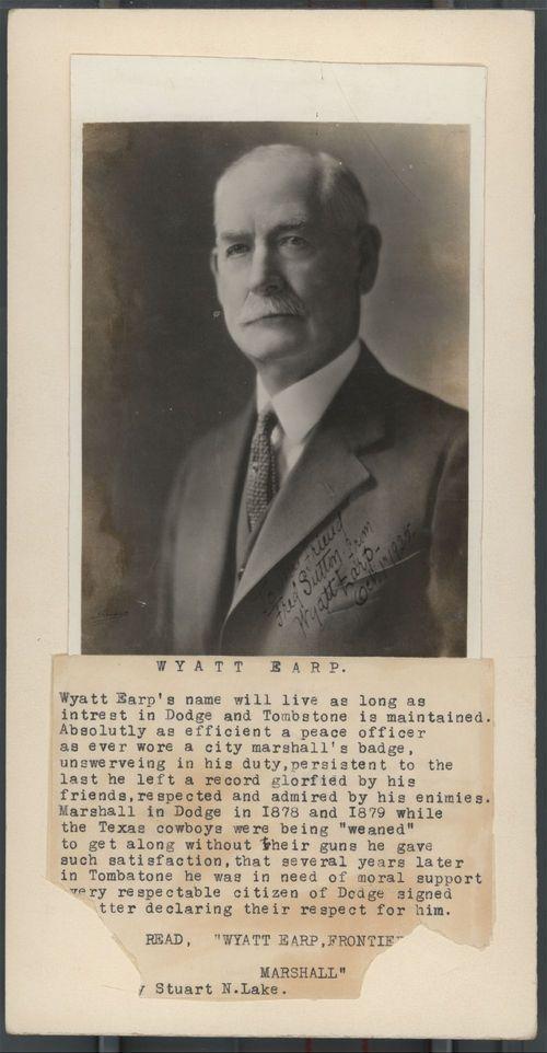 Wyatt Earp clipart border #1
