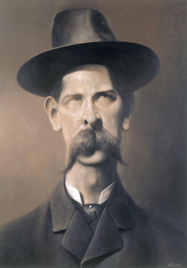 Drawn wyatt earp spooky Pinterest best about Earp Painting