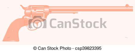 Drawn wyatt earp vector The barrel Gun of a