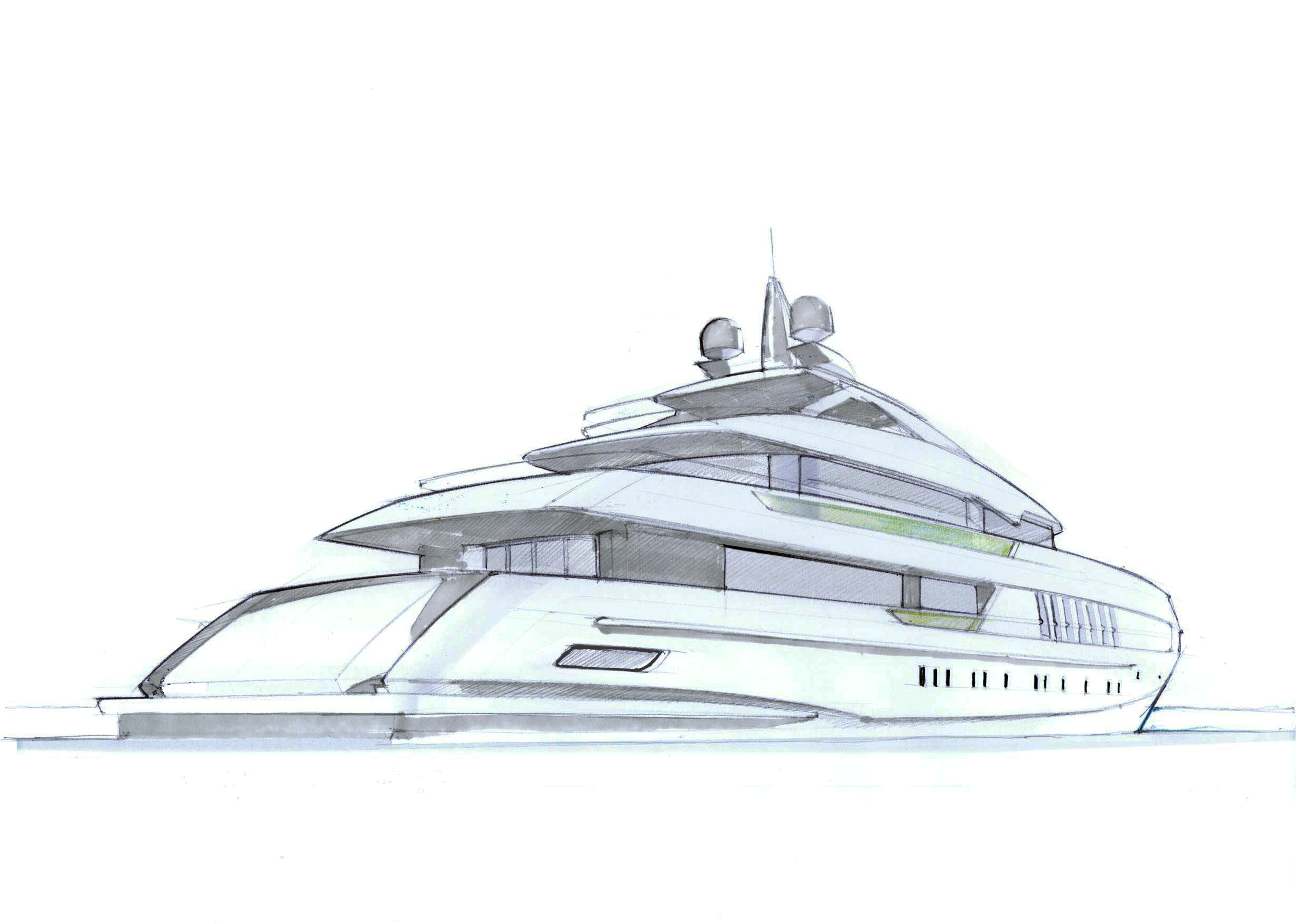 Yacht clipart future The Luxury Charter yacht