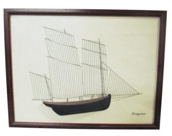 Drawn yacht printable MCM Boat Mid drawing Nautical