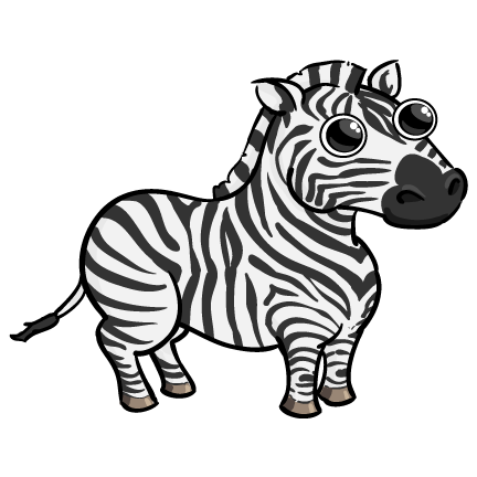 Moving clipart zebra Cyclist 2: Pinterest Zebra everythig