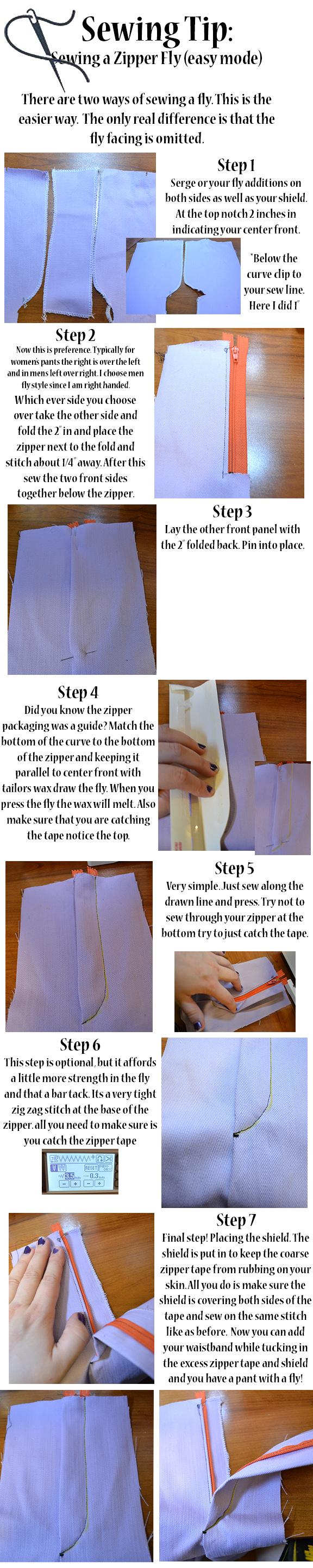 Drawn zipper easy Easy Easy tutorial tutorial RaaBee