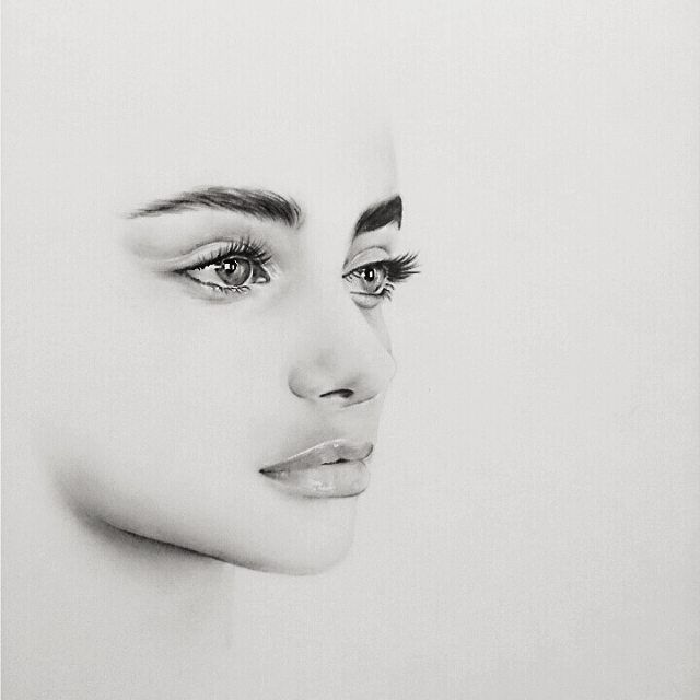 Drawn portrait best face Ideas drawing to Pinterest faces