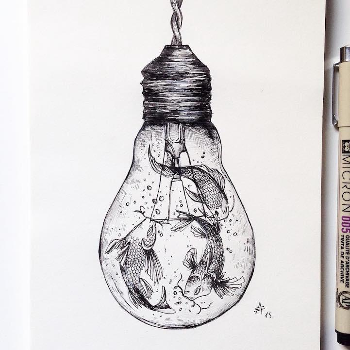 Drawn zodiac crayon #5