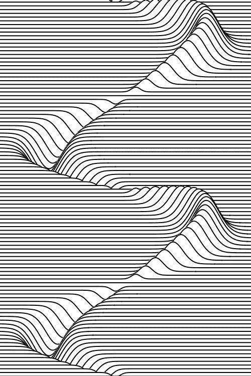 Drawn zodiac optical illusion #15