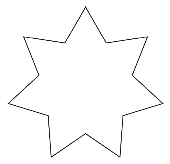 Drawn stare template cut out Template Download printable in Template