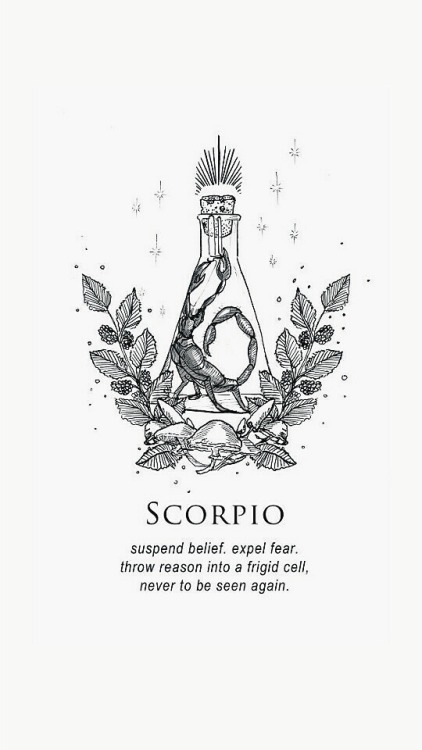 Drawn zodiac tumblr background #5